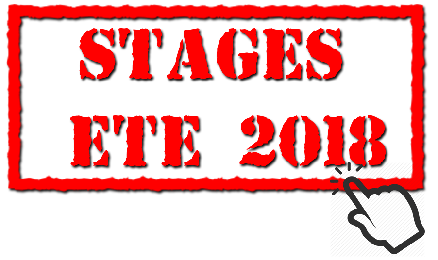 Stages Ete 2018